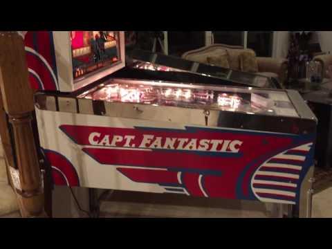 My Latest Arrival: 1976 Bally Captain Fantastic