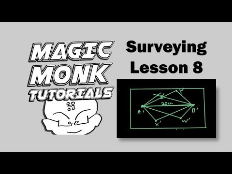 Surveying Maths A lesson 8 - Plane table surveying