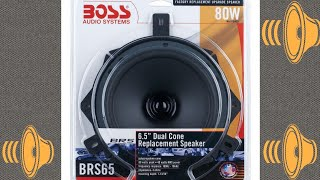 $9 speaker?! Boss audio brs65