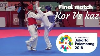 Download Video Final match Korea Vs Kazakhstan Asian games Jakarta Palembang 2018 MP3 3GP MP4