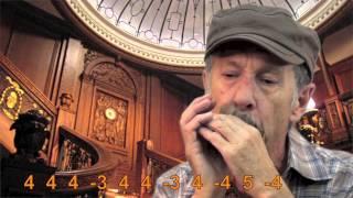 Titanic Theme -- Harmonica//Mundharmonika Harp Tabs