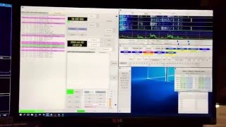 tx ts 590 on jt65 and rx via funcube pro if out from ts 590 for info on6kx qrz page