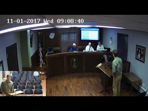 Umatilla County Board of County Commissioners Meeting 11-01-2017