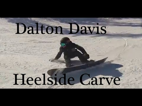 Dalton Davis Deep Heelside Carve Youtube
