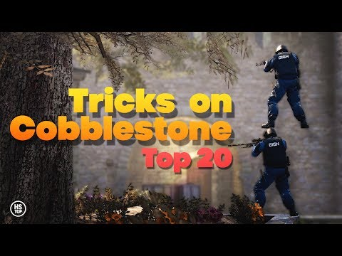 Top 20 Tricks on COBBLESTONE ★ CS:GO [2017]