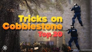 Top 20 Tricks on COBBLESTONE ★ CS:GO