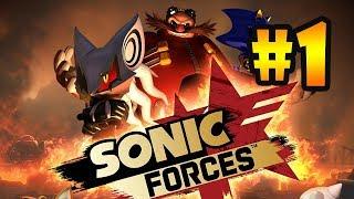 Прохождение Sonic Forces (PC) #1 - Соник слился