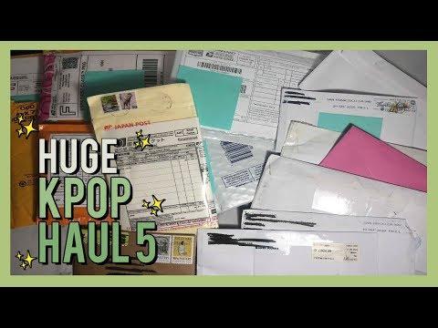 HUGE!! K-Pop/Photocard Unboxing & Haul # 5   BTS & Blackpink Haul - Photocard Reveal