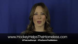 Lisa Durupt - Hockey Helps The Homeless (Vancouver Canada) 2017