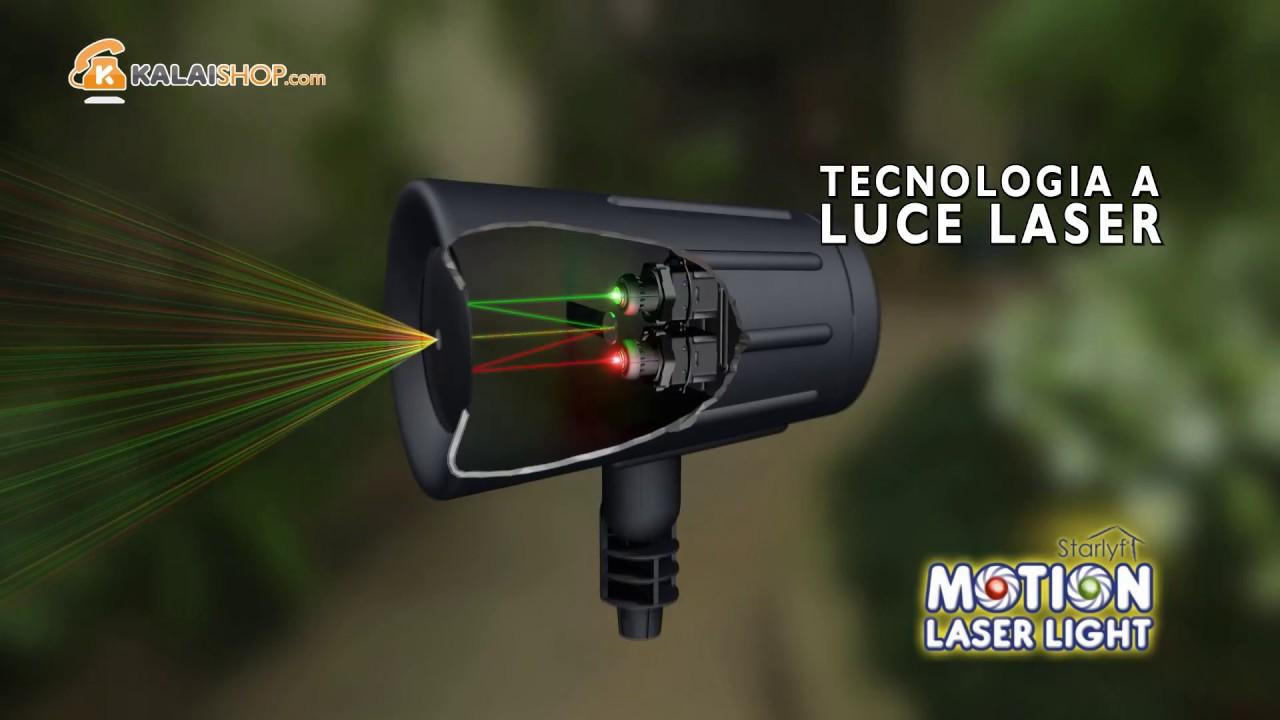 starlyf motion laser light youtube