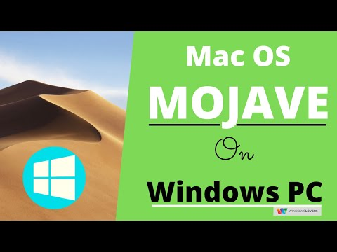 How To Install MacOS X On Windows 10 PC | Mojave