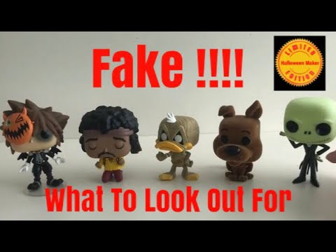 Funko Pop Vinyl Fake What To Look Out For Youtube