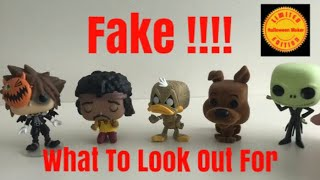 Funko POP Vinyl Fake What To Look Out For!!!!