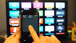 How to Use iPhone or iPad as an Apple TV Remote