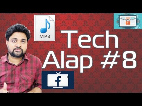 Tech Alap #8 | Ransomware, Mp3, Facebook TV, Galaxy S8, Fast Battery