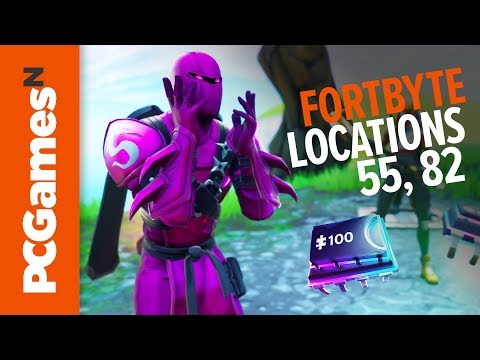 Fortnite Fortbyte Guide - Numbers #55 And #82