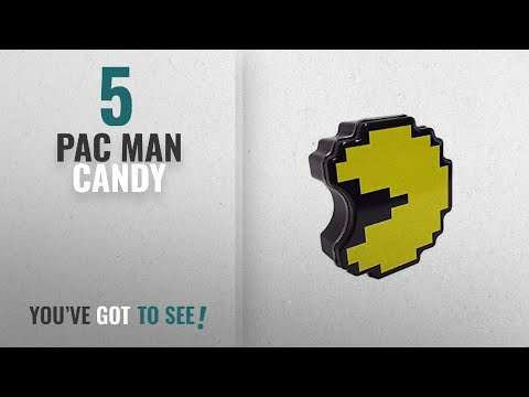 Top 10 Pac Man Candy [2018]: Boston America Pac-Man Candy Tin