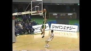 大商学園 梶山信吾選手のダンク ウィンターカップ 1994年 [basketball]