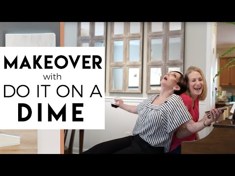 Small Room Makeover  | Do It On A Dime & Robeson Design