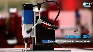Economic Magnetic Drilling Machine MABasic 200 Mag Drill