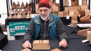European Woodworking Show - Ben Talks With Temima Crafts