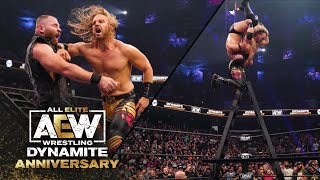 Looks Who's Back! Watch the Conclusion to the Casino Ladder Match | AEW Dynamite: Anniversary