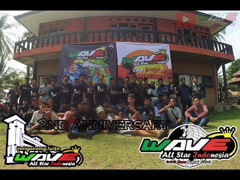 wave motovlog | #33 | 2nd years anniversarry Wave Allstar Indonesia Zone Tangerang Kota