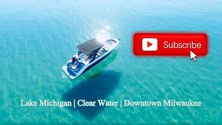 Lake Michigan has clear water?