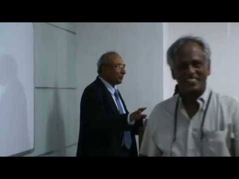 Guest lecture by Mr. Sabyasachi Hajara at Unitedworld School of Business, Ahmedabad-