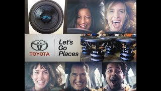 BASS FACE 2 - My 30,000 Watt Sound System in another Toyota Commercial! Special Effects!
