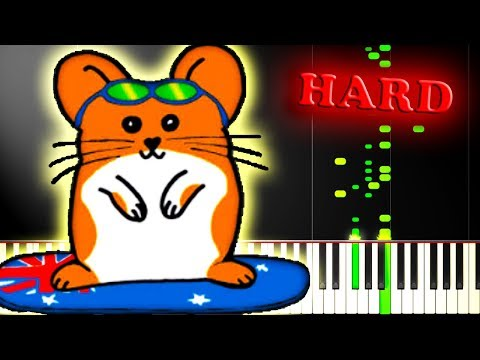 THE HAMPSTERDANCE SONG - Piano Tutorial