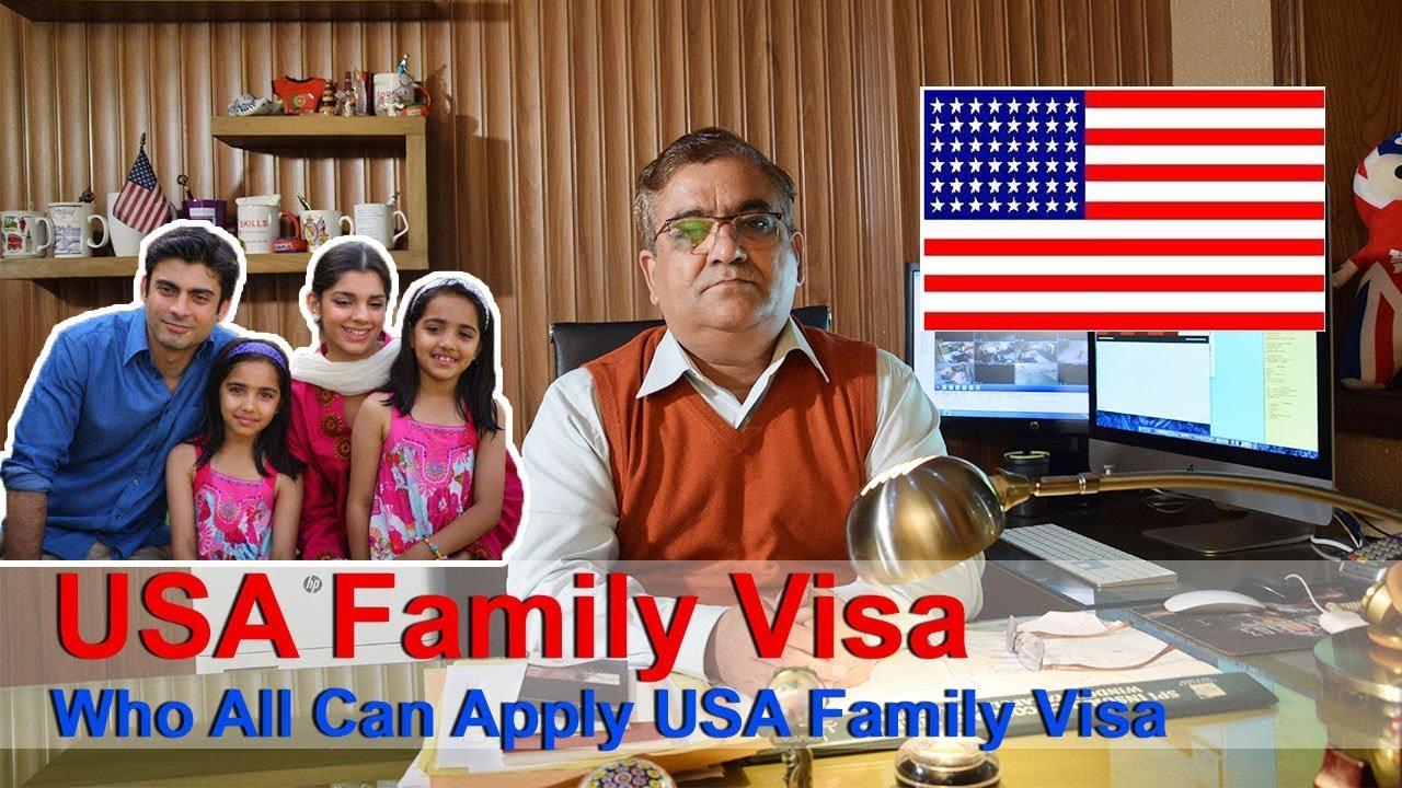 USA Family Visa | Who All Can Apply USA Family Visa | Move to USA