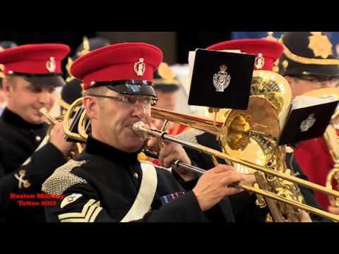Buxton Military Tattoo 2015 - Massed Bands - Amazing Grace