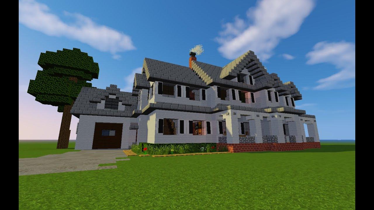 tuto maison de ferme farmhouse villas partie 2 minecraft fr youtube. Black Bedroom Furniture Sets. Home Design Ideas