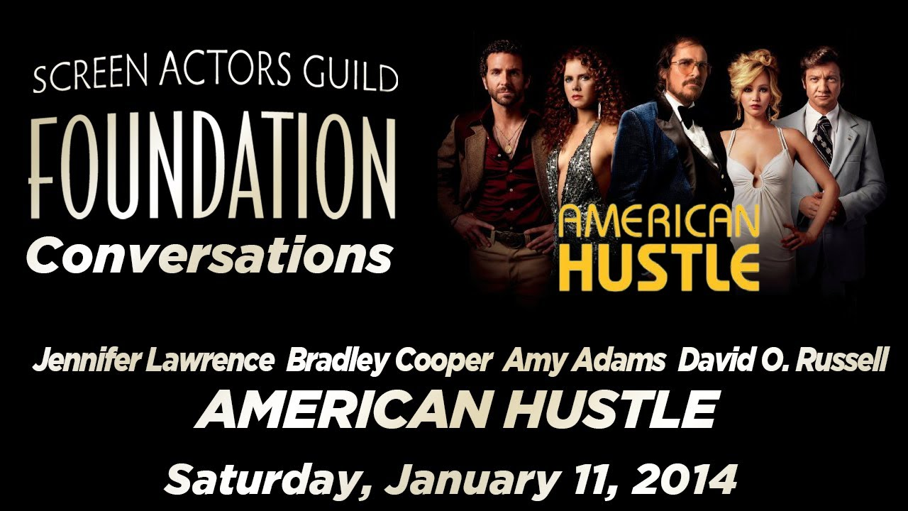 Conversations with the Director and Cast of AMERICAN HUSTLE