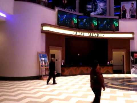 Wide View of Lobby Display at Downtown Regal Cinemas presented by www.LoftLivingLA.com