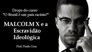 """Drops do curso """"O Brasil é um país racista?"""" - Malcolm X e a Escravidão Ideológica"""