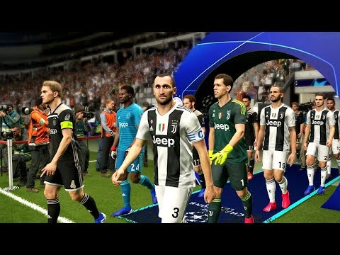Juventus vs Ajax (2nd Leg) UCL 16 April 2019 Gameplay