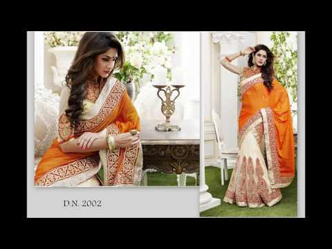 Popular Designer Party Wear Indian Saree