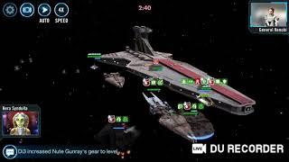 Swgoh Rebel vs GR fleet