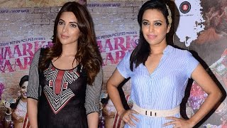 Anarkali Of Arrah Movie Special Screening | Swara Bhaskar, Shama Sikander