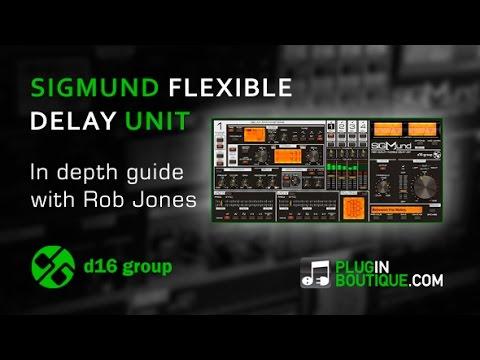 Sigmund Flexible Delay Plugin - Complete User Guide By Rob Jones