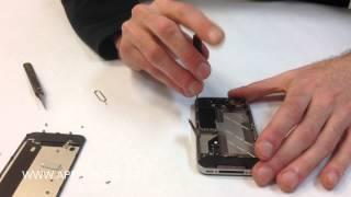 iPhone 4, 4S - Výměna zad a lcd displeje - 1.díl