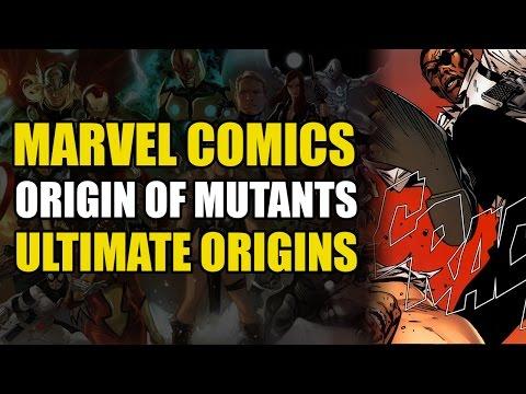 Origin of Ultimate Mutants & Ultimate Hulk (Marvel Ultimate Universe Origins)