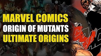 Origin of Ultimate Mutants & Ultimate Hulk (Marvel Ultimate Universe Origins)