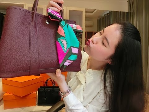Hermes Garden Party [Review + What's in my bag]
