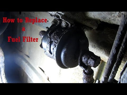 DIY How to Replace a Fuel Filter On a 97 Suzuki Sidekick - Fuel