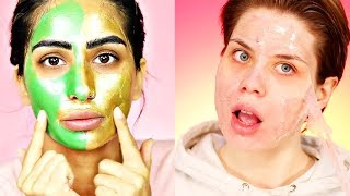 ✨Best Makeup Tutorials 2018 | 😱Satisfying Face Mask Peeling Skincare | Woah Beauty