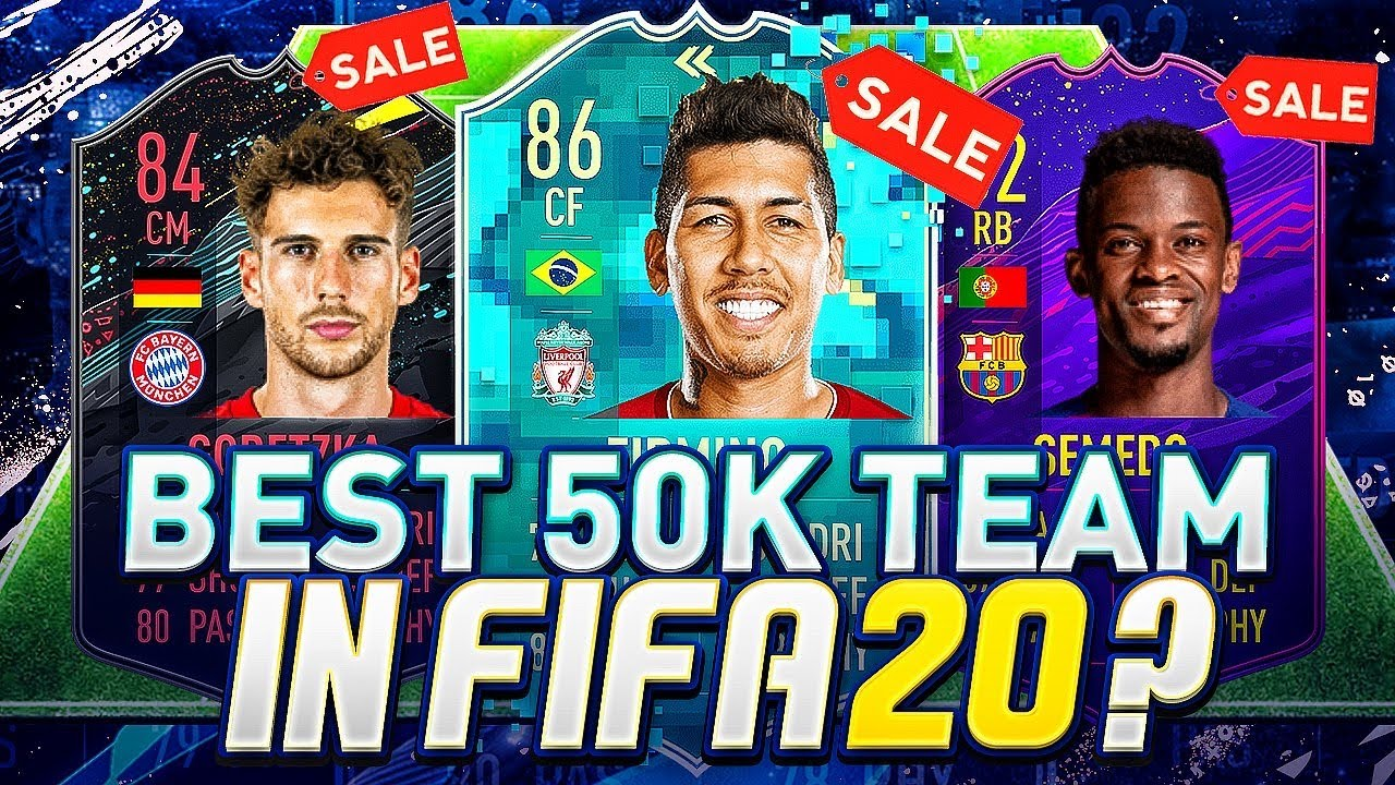 Best 50K Team in all of FIFA 20? thumbnail