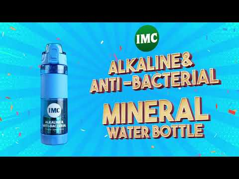 IMC's Alkaline Mineral Water Bottle